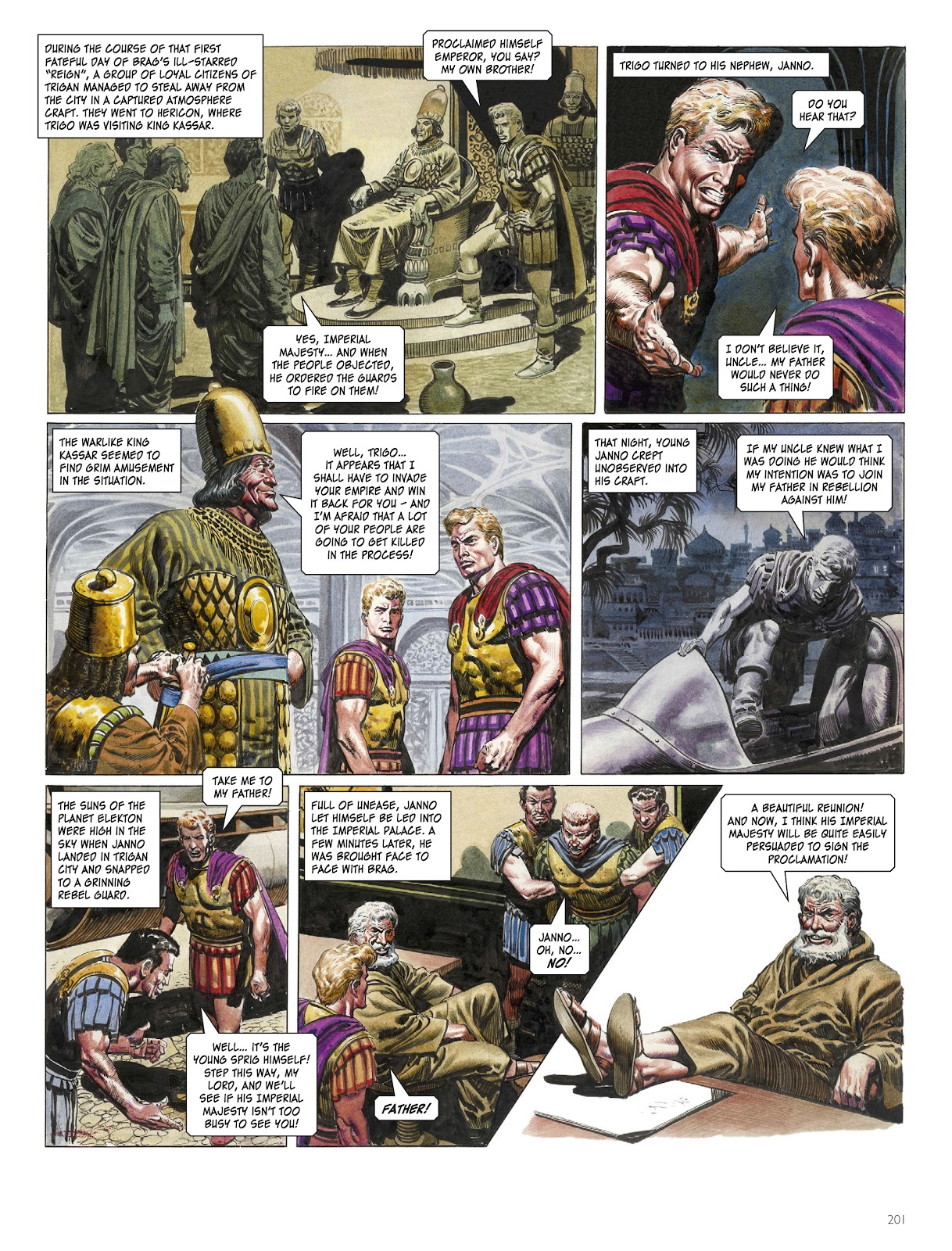 The Rise and Fall of the Trigan Empire TPB 1 (Part 3) Page 1