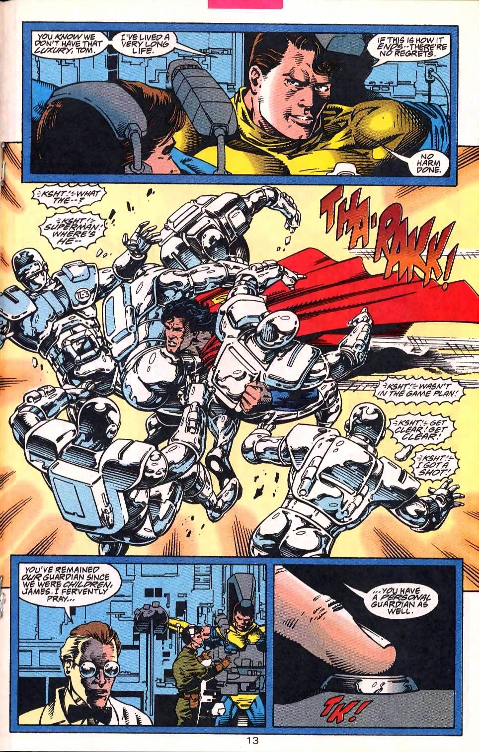 Read online Adventures of Superman (1987) comic -  Issue #513 - 14