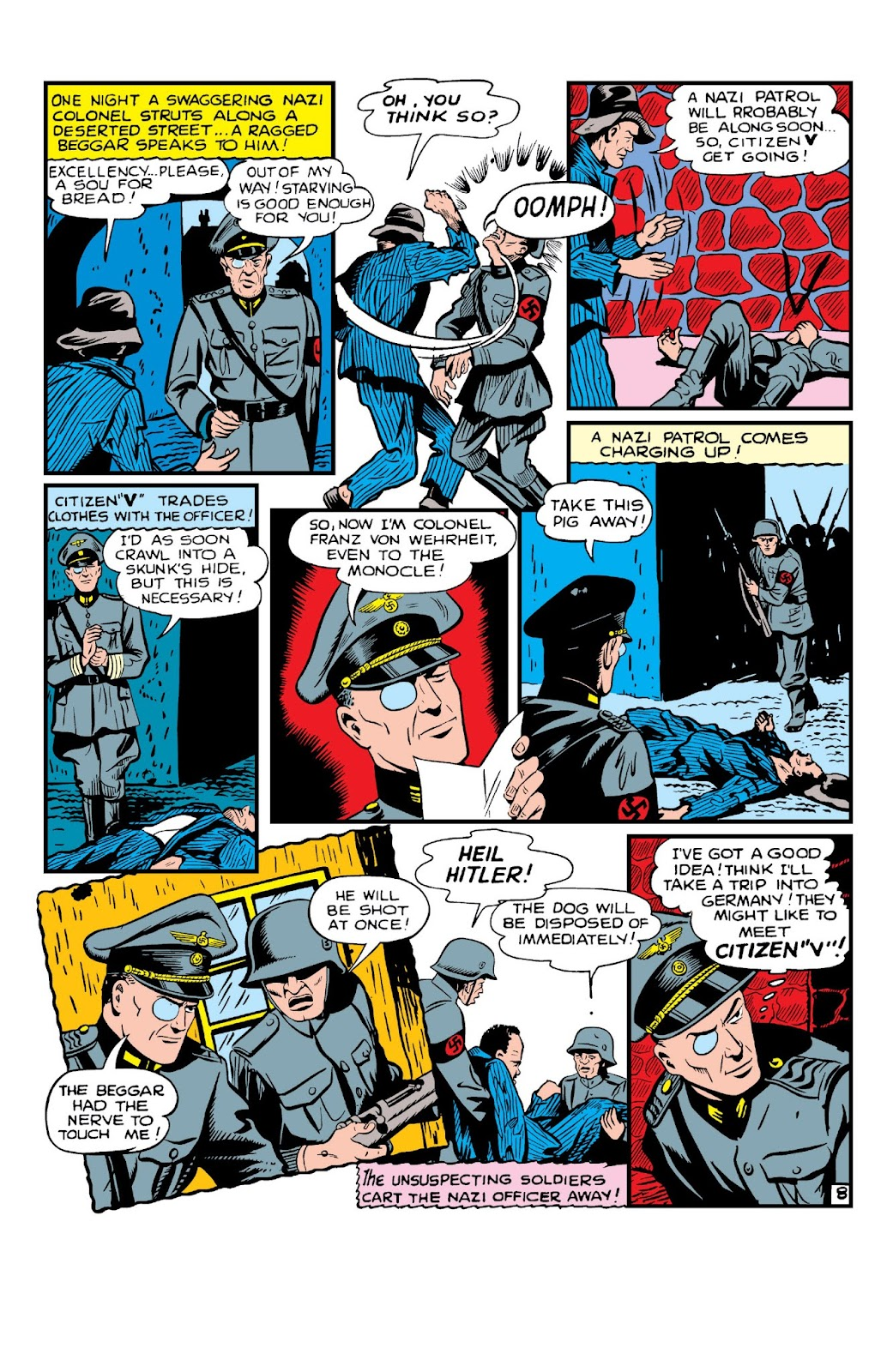 Daring Mystery Comics issue 8 - Page 10
