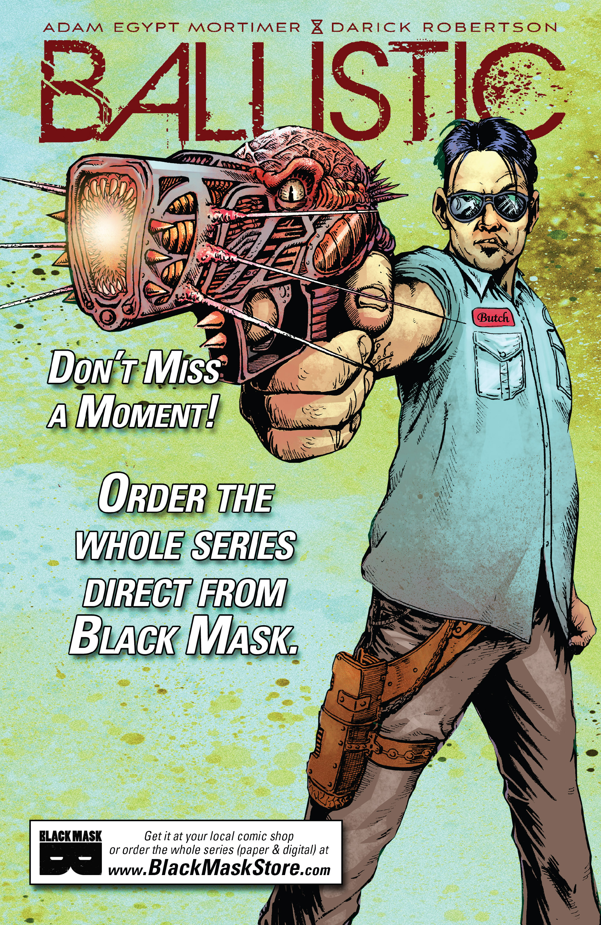 Read online Ballistic (2013) comic -  Issue #3 - 27