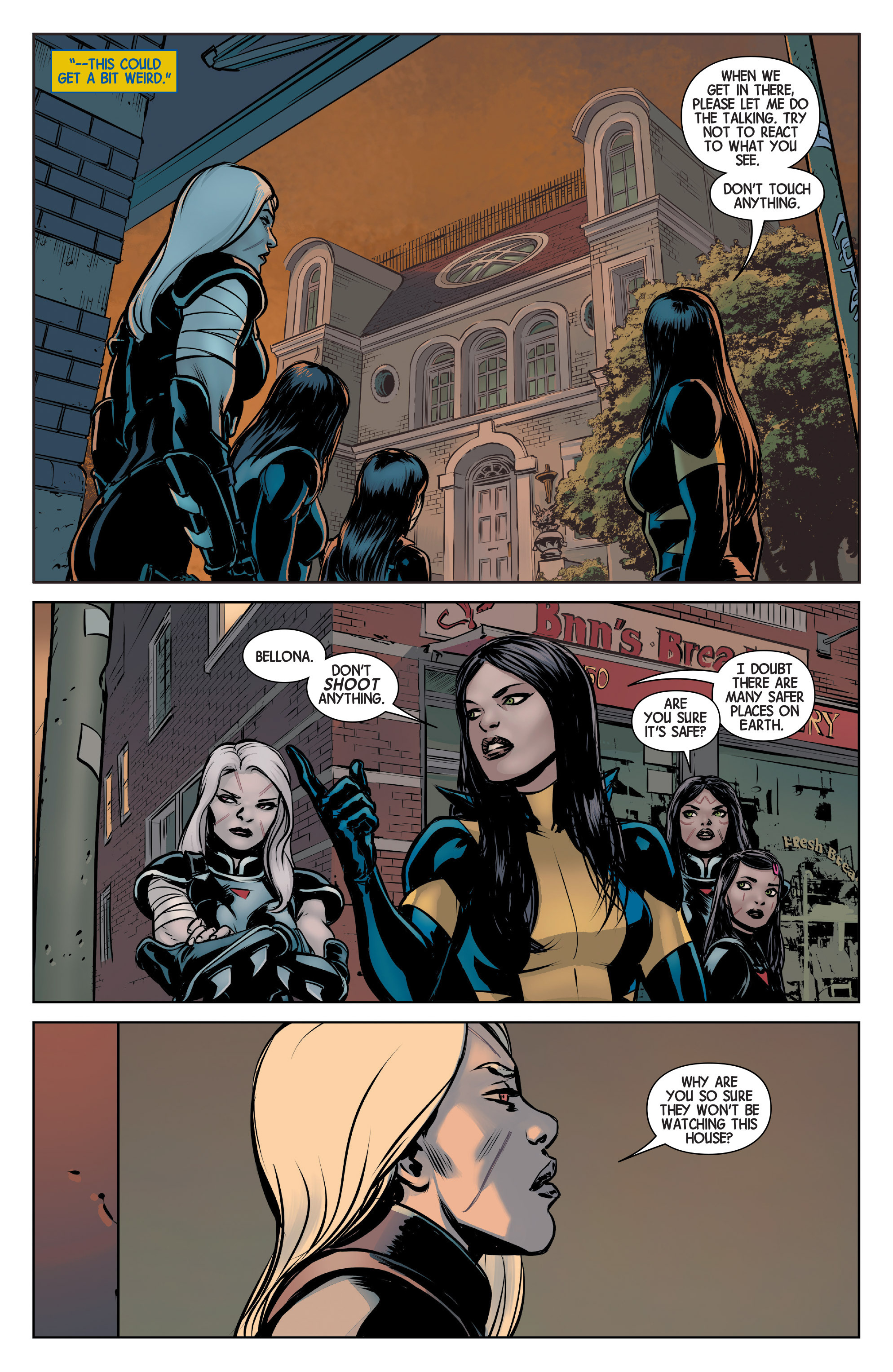 Read online All-New Wolverine (2016) comic -  Issue #3 - 20
