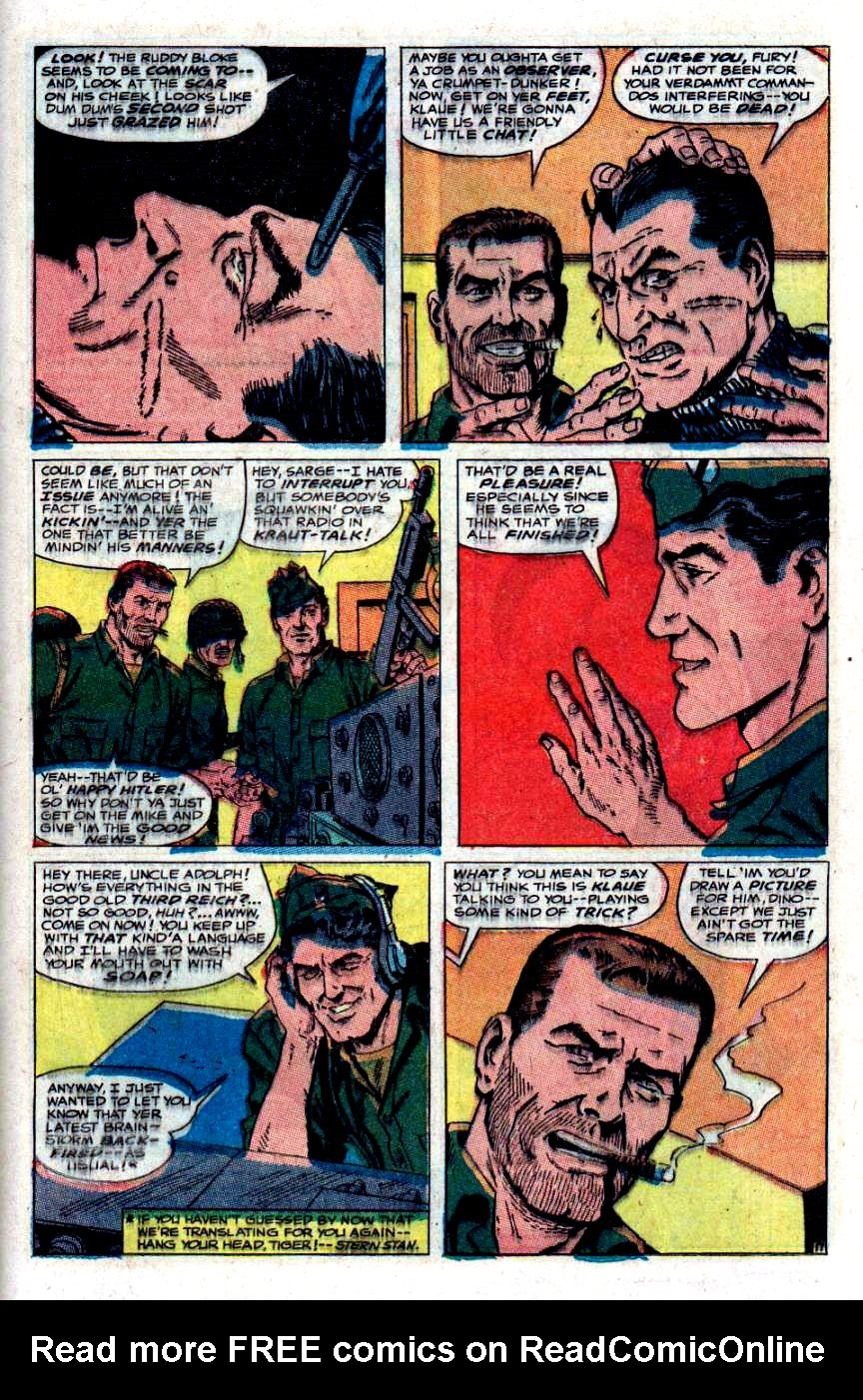 Read online Sgt. Fury comic -  Issue #48 - 24