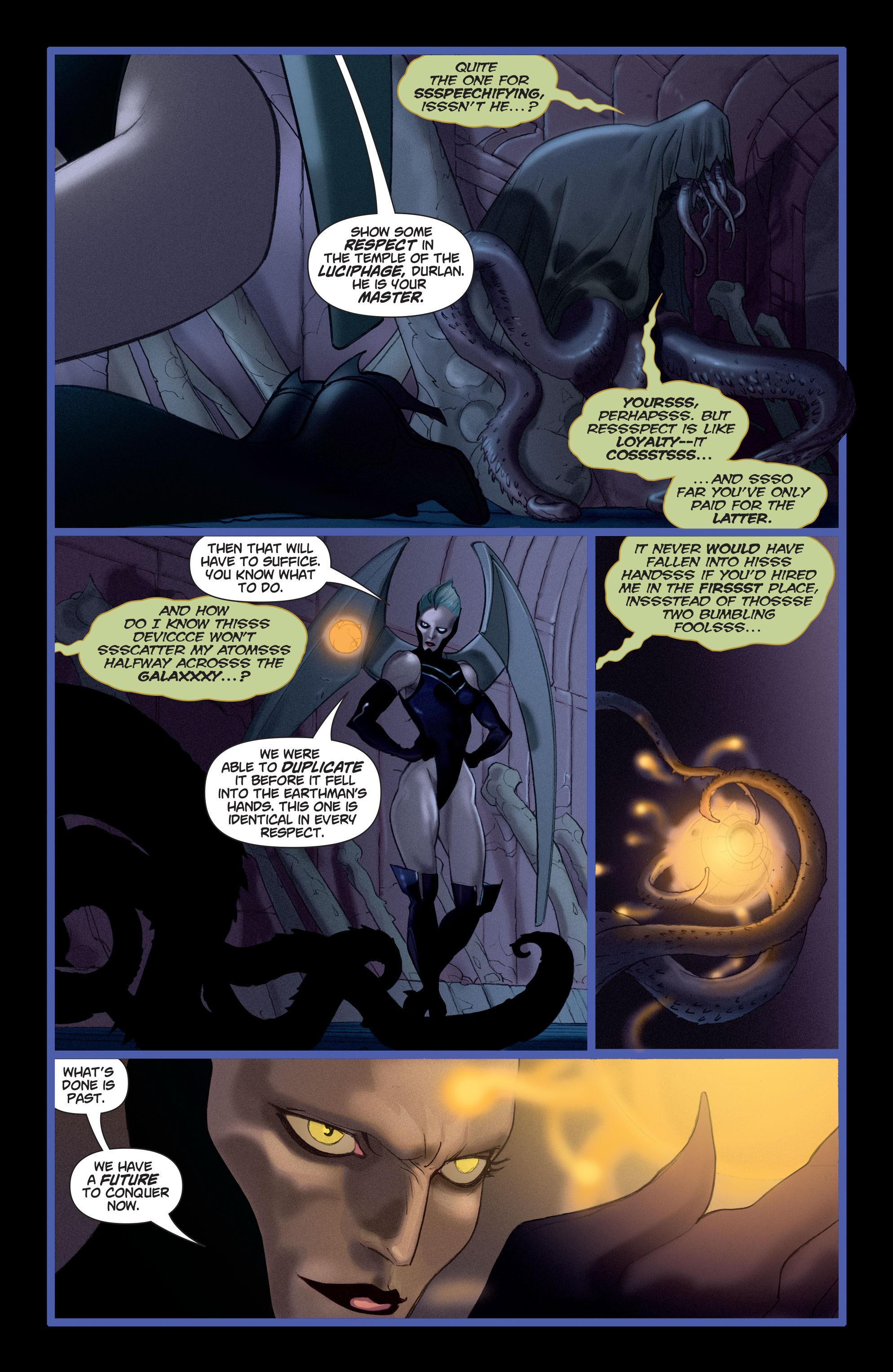 Read online Adam Strange (2004) comic -  Issue #4 - 17