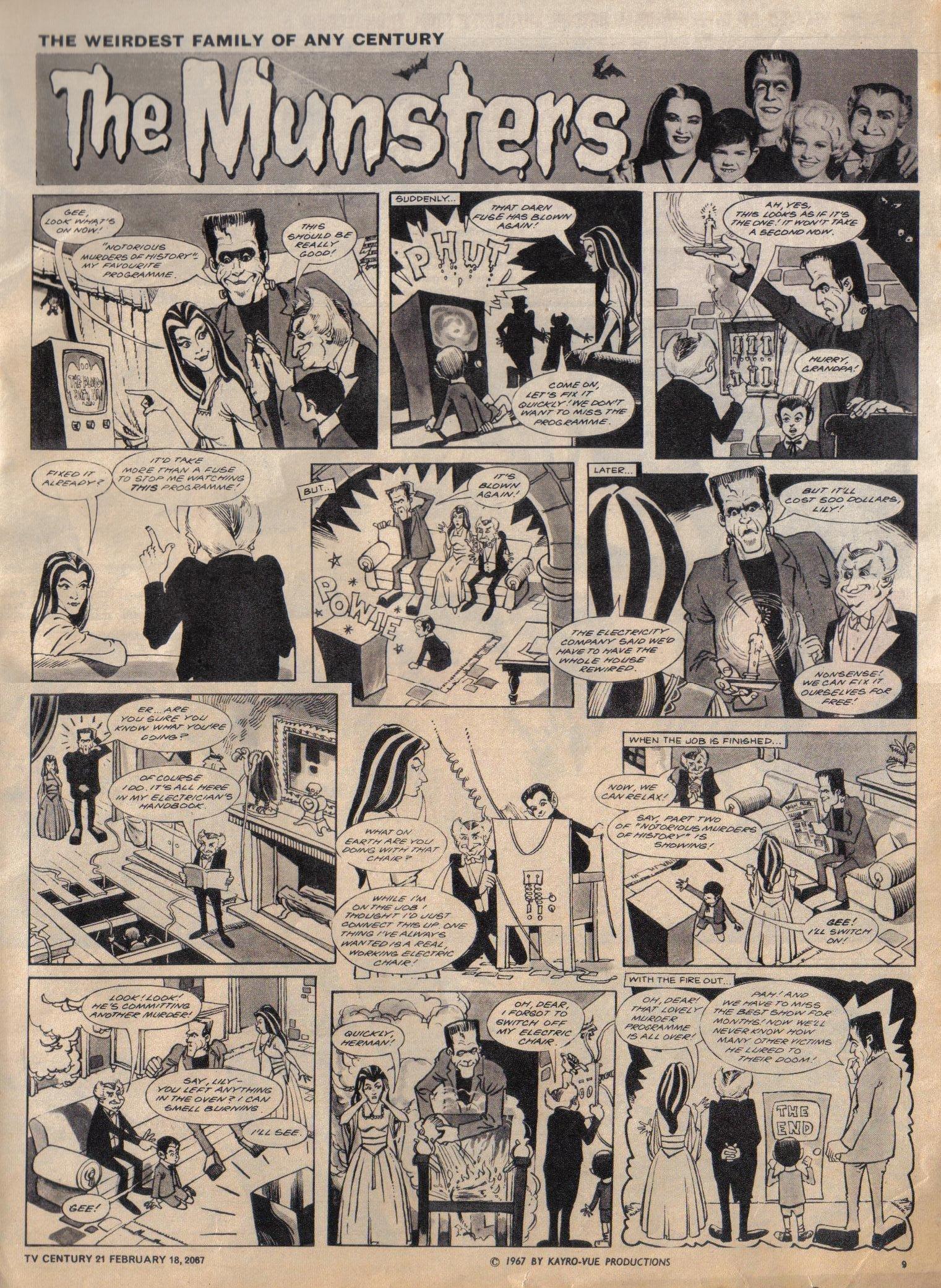 Read online TV Century 21 (TV 21) comic -  Issue #109 - 9