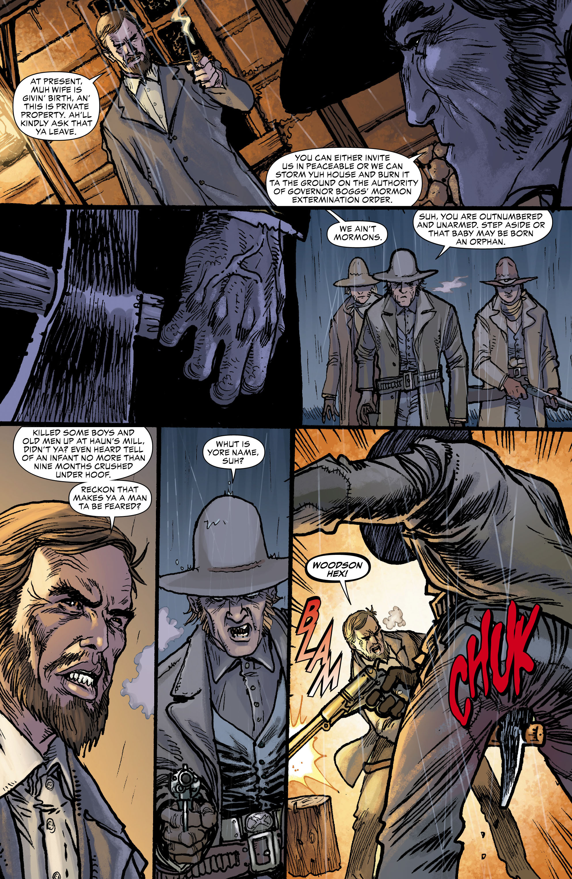 Read online All-Star Western (2011) comic -  Issue #0 - 3
