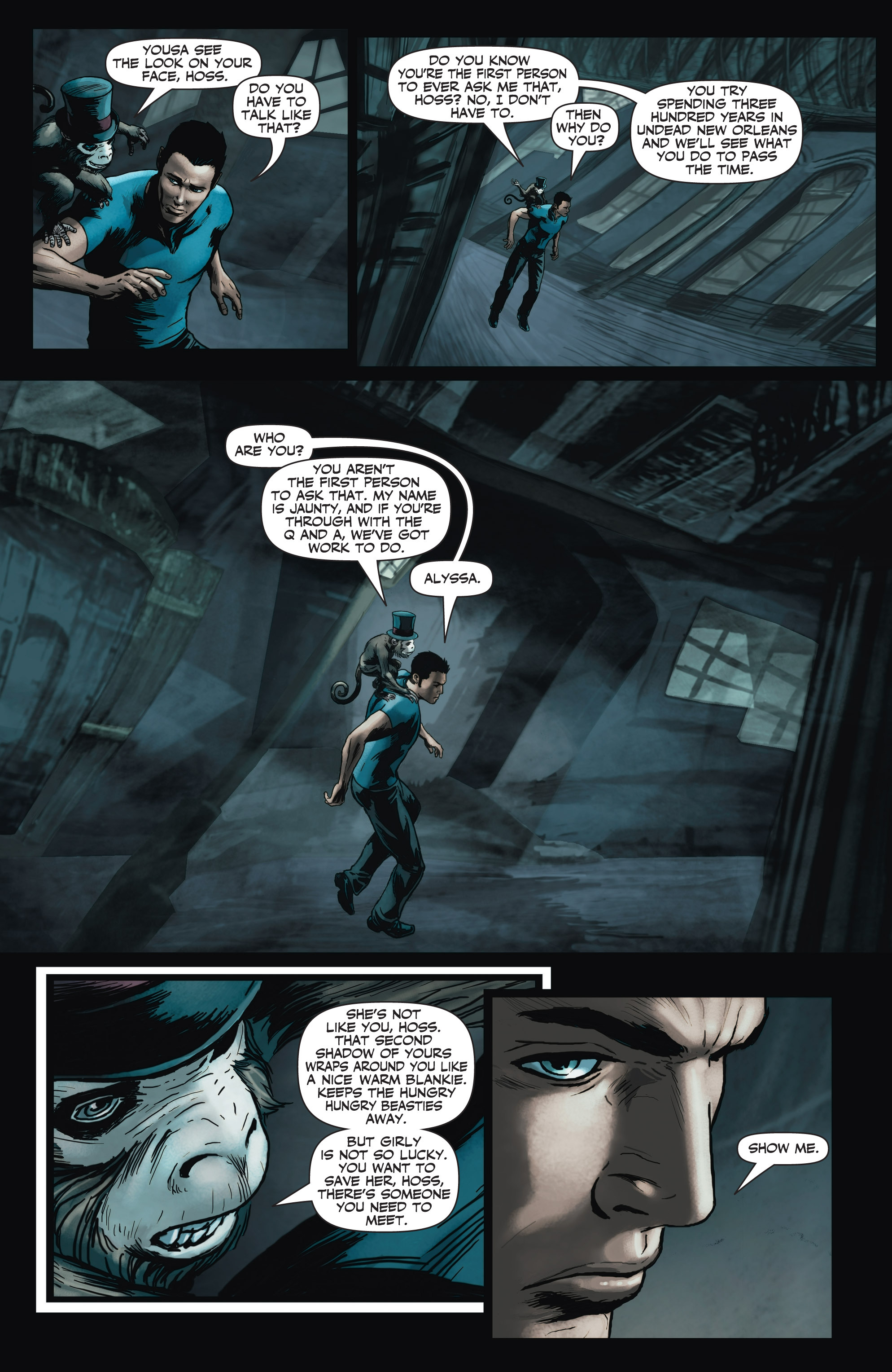 Read online Shadowman (2012) comic -  Issue #3 - 12