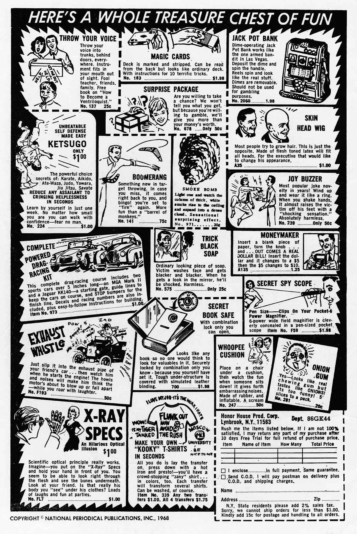 Read online Adventure Comics (1938) comic -  Issue #371 - 2