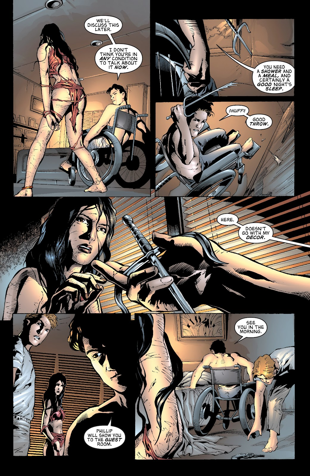 Read online Elektra (2001) comic -  Issue # _TPB Elektra by Greg Rucka Ultimate Collection (Part 3) - 19