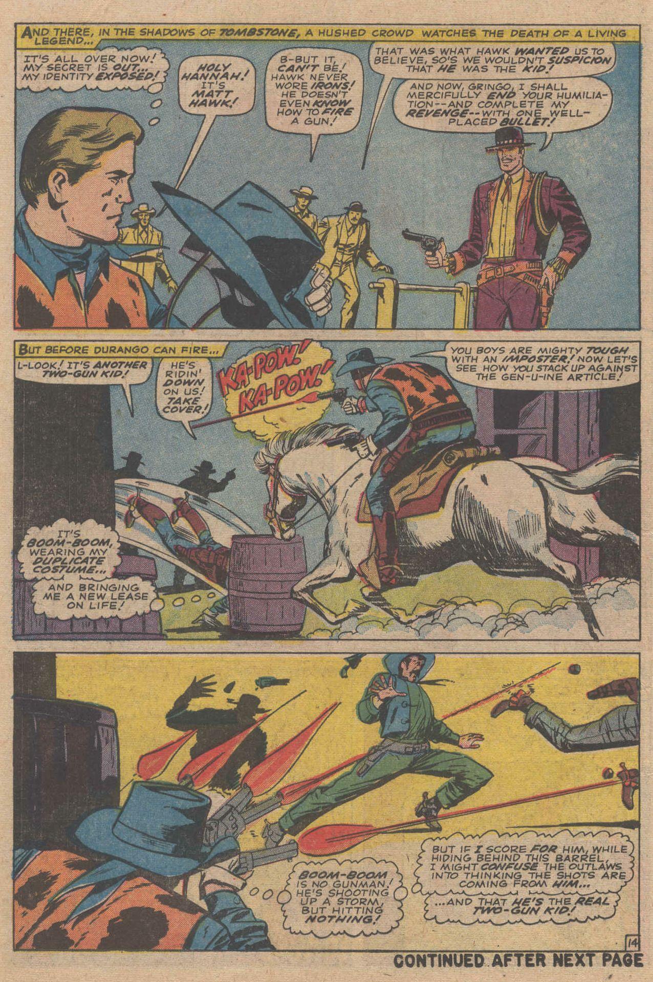 Read online Two-Gun Kid comic -  Issue #83 - 18