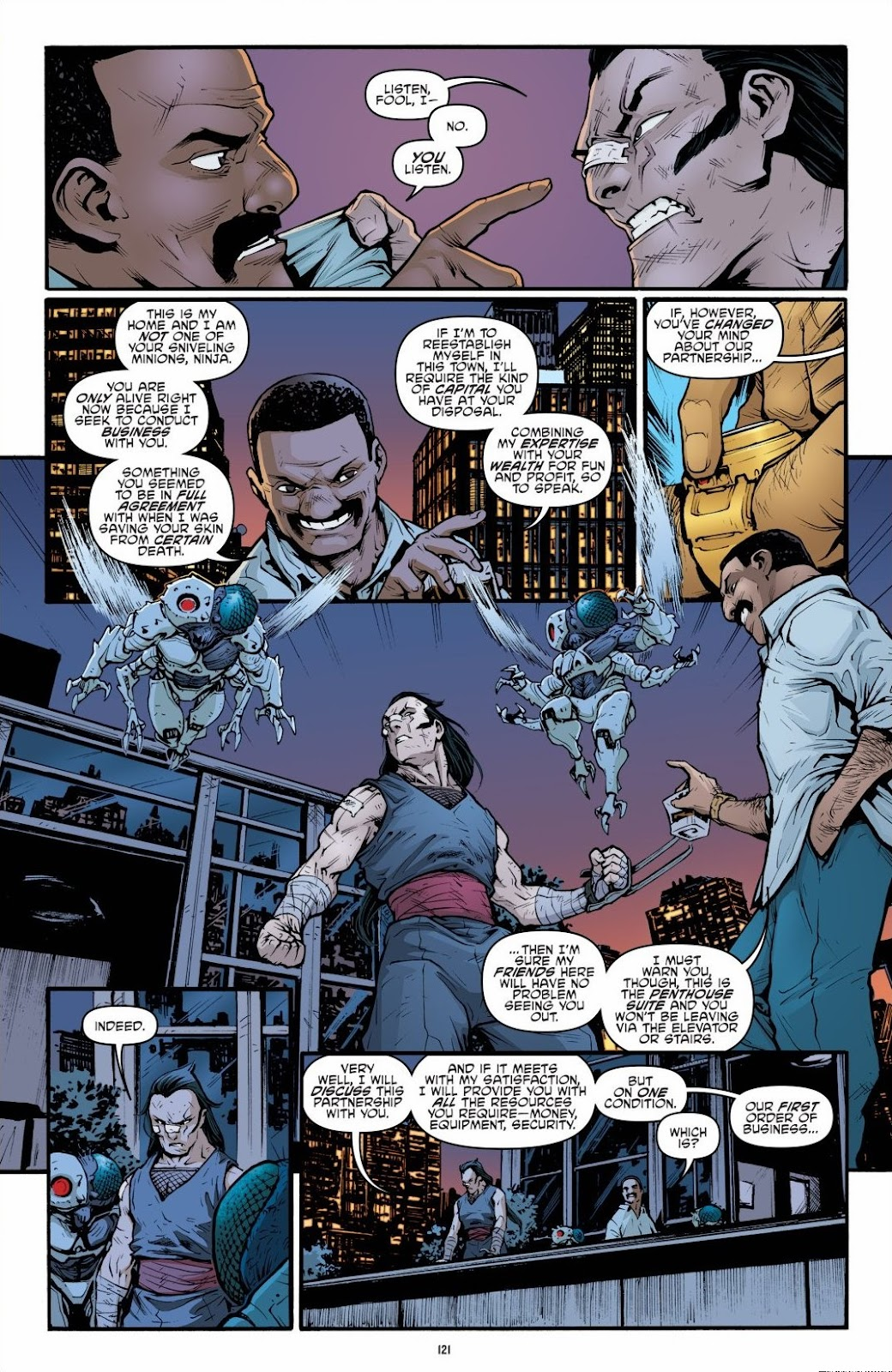 Read online Teenage Mutant Ninja Turtles: The IDW Collection comic -  Issue # TPB 6 (Part 2) - 20
