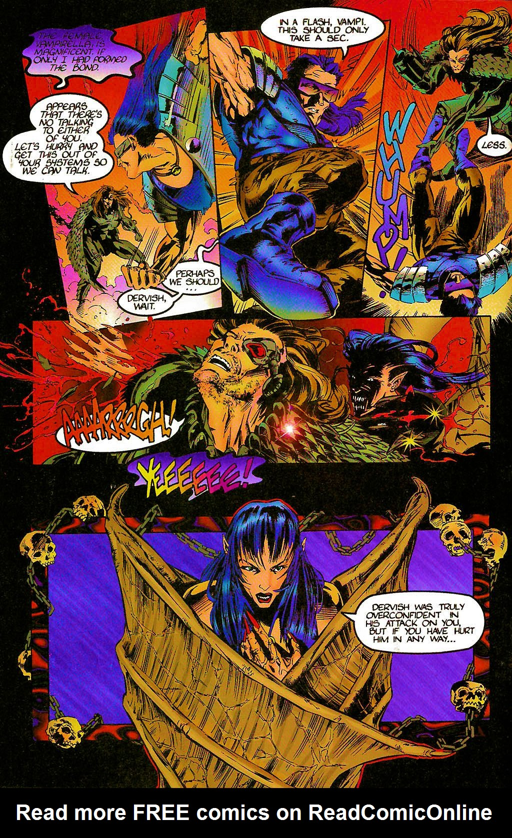 Read online Chains of Chaos comic -  Issue #2 - 6