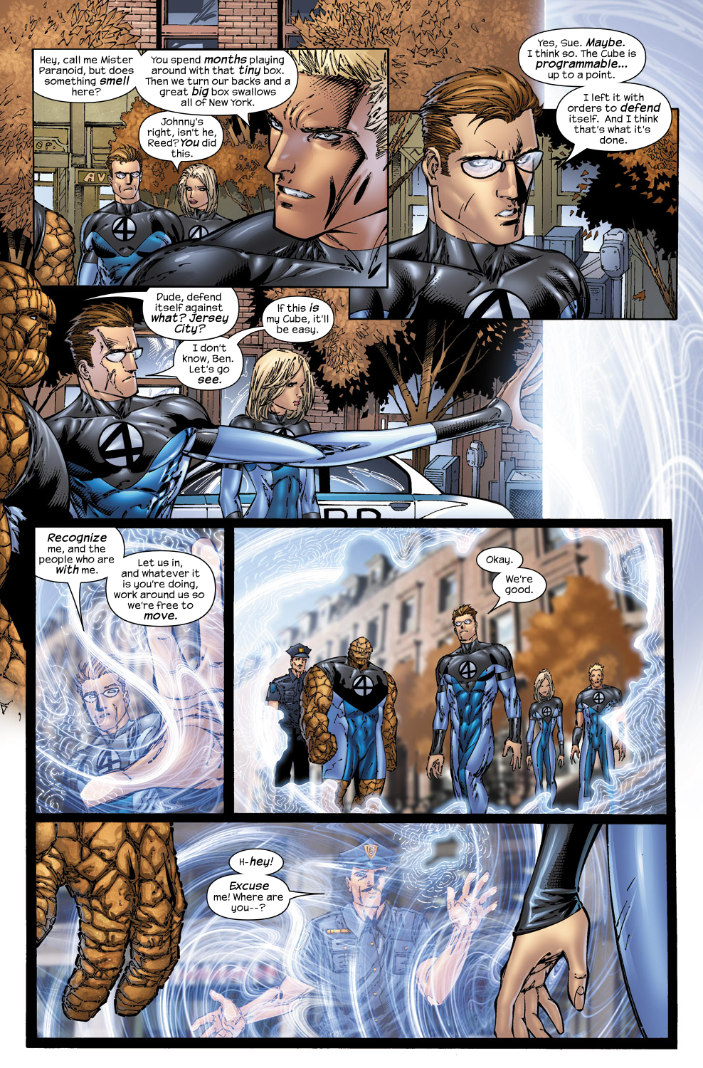 Read online Ultimate Fantastic Four (2004) comic -  Issue #50 - 8