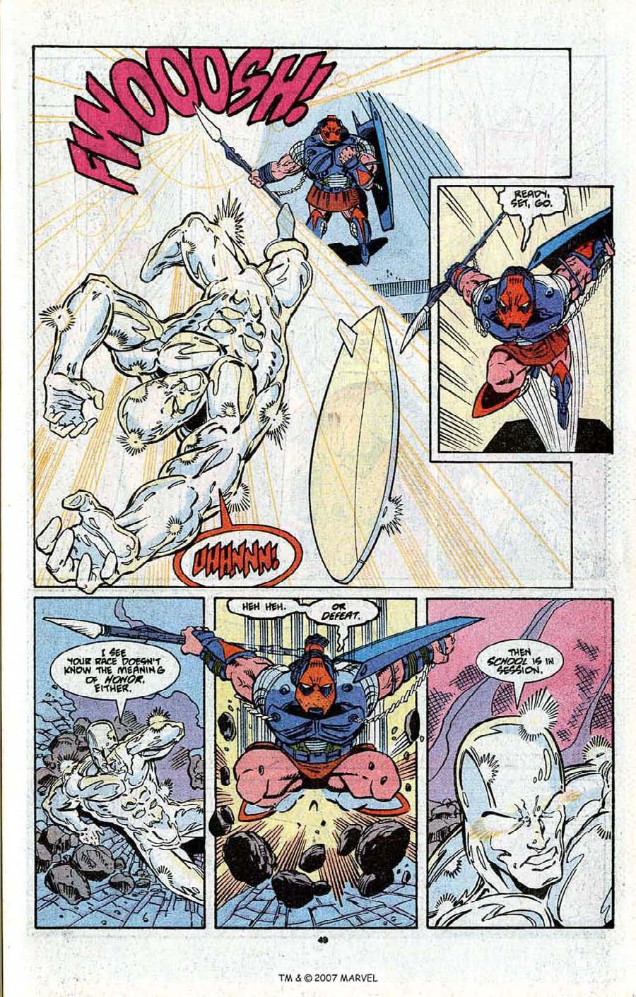 Read online Silver Surfer (1987) comic -  Issue # _Annual 3 - 51