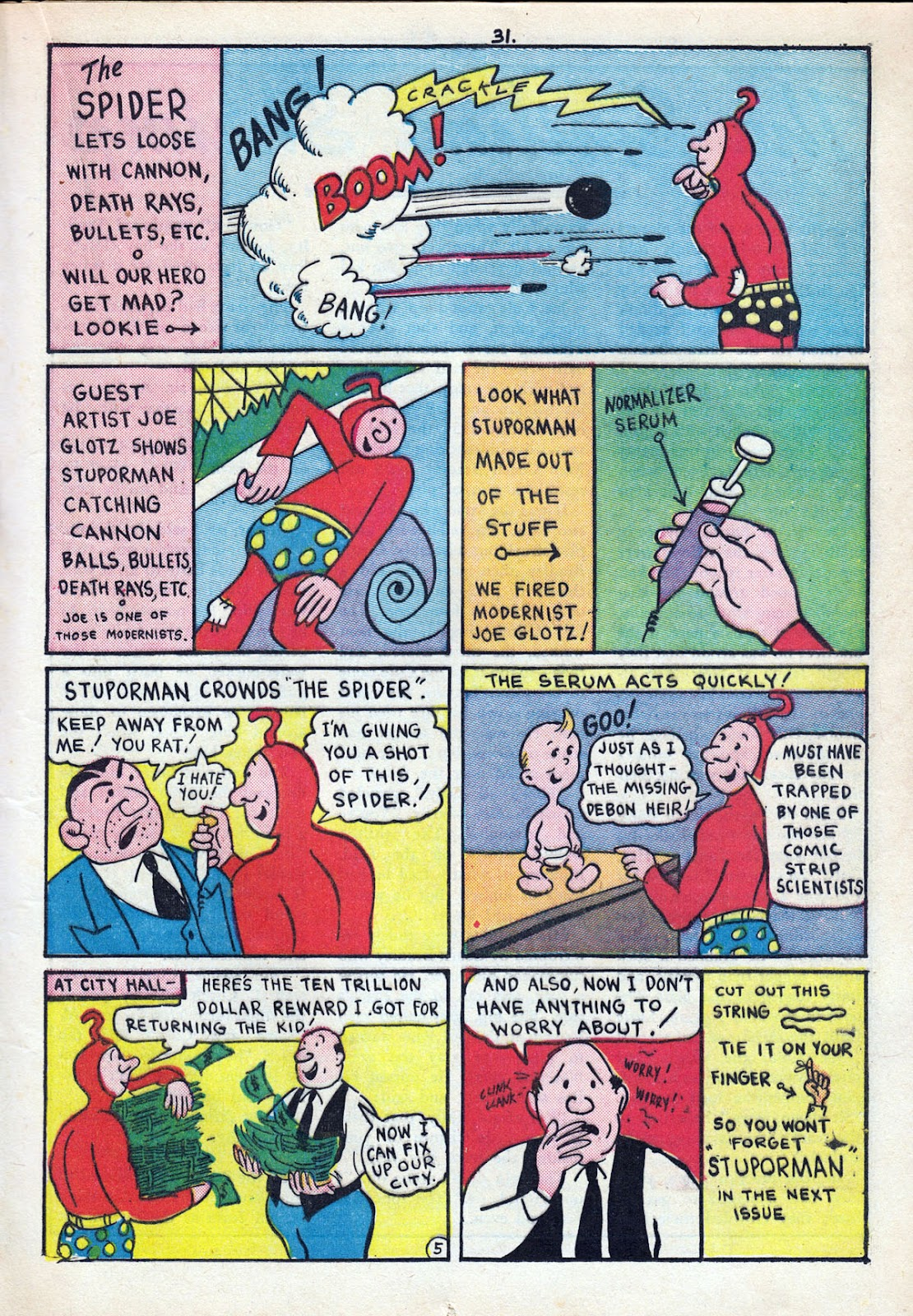 Read online Comedy Comics (1942) comic -  Issue #11 - 33