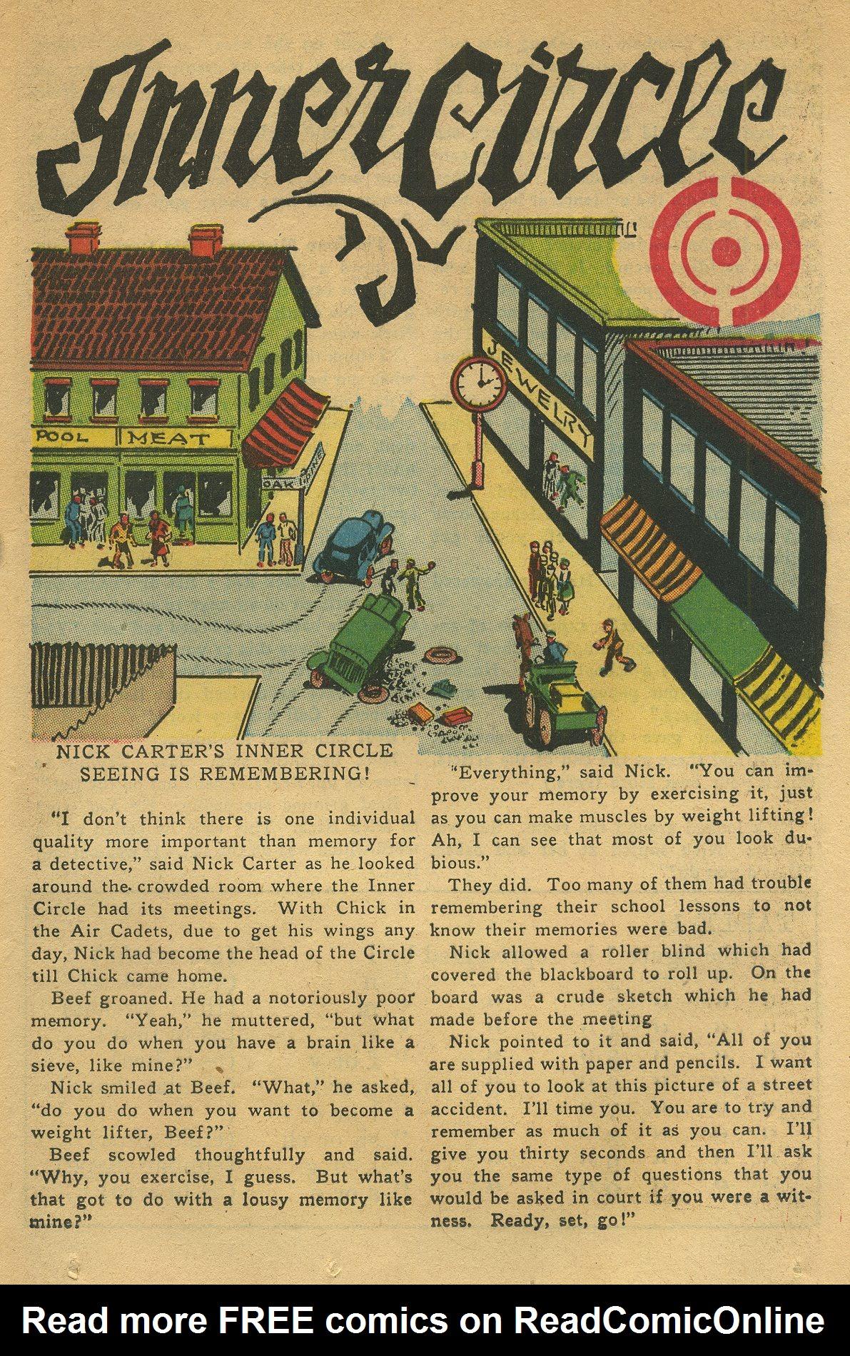 Read online Shadow Comics comic -  Issue #49 - 33