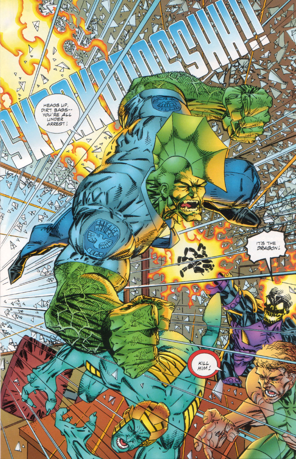 The Savage Dragon (1993) Issue #26 #29 - English 4