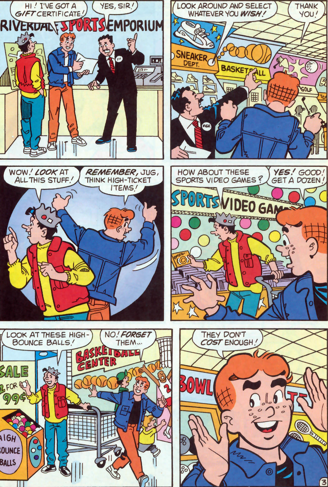 Read online Archie (1960) comic -  Issue #466 - 16