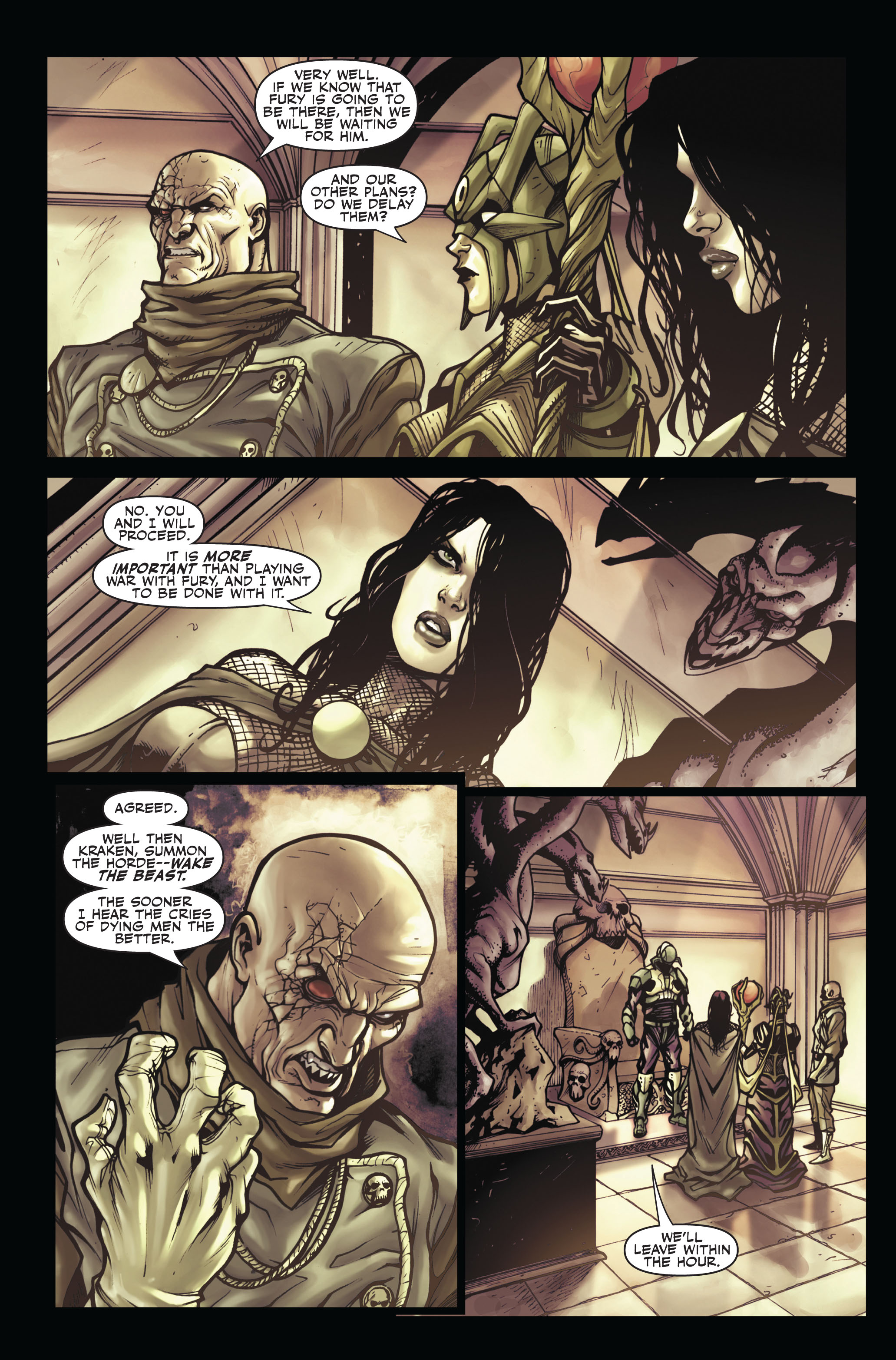 Read online Secret Warriors comic -  Issue #5 - 15