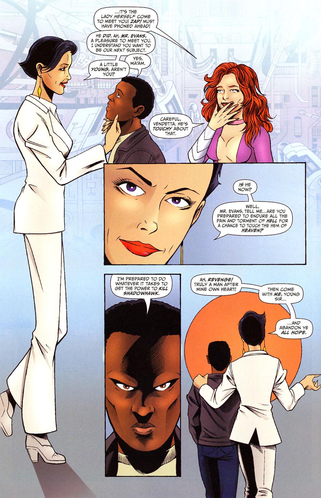 Read online ShadowHawk (2005) comic -  Issue #15 - 13