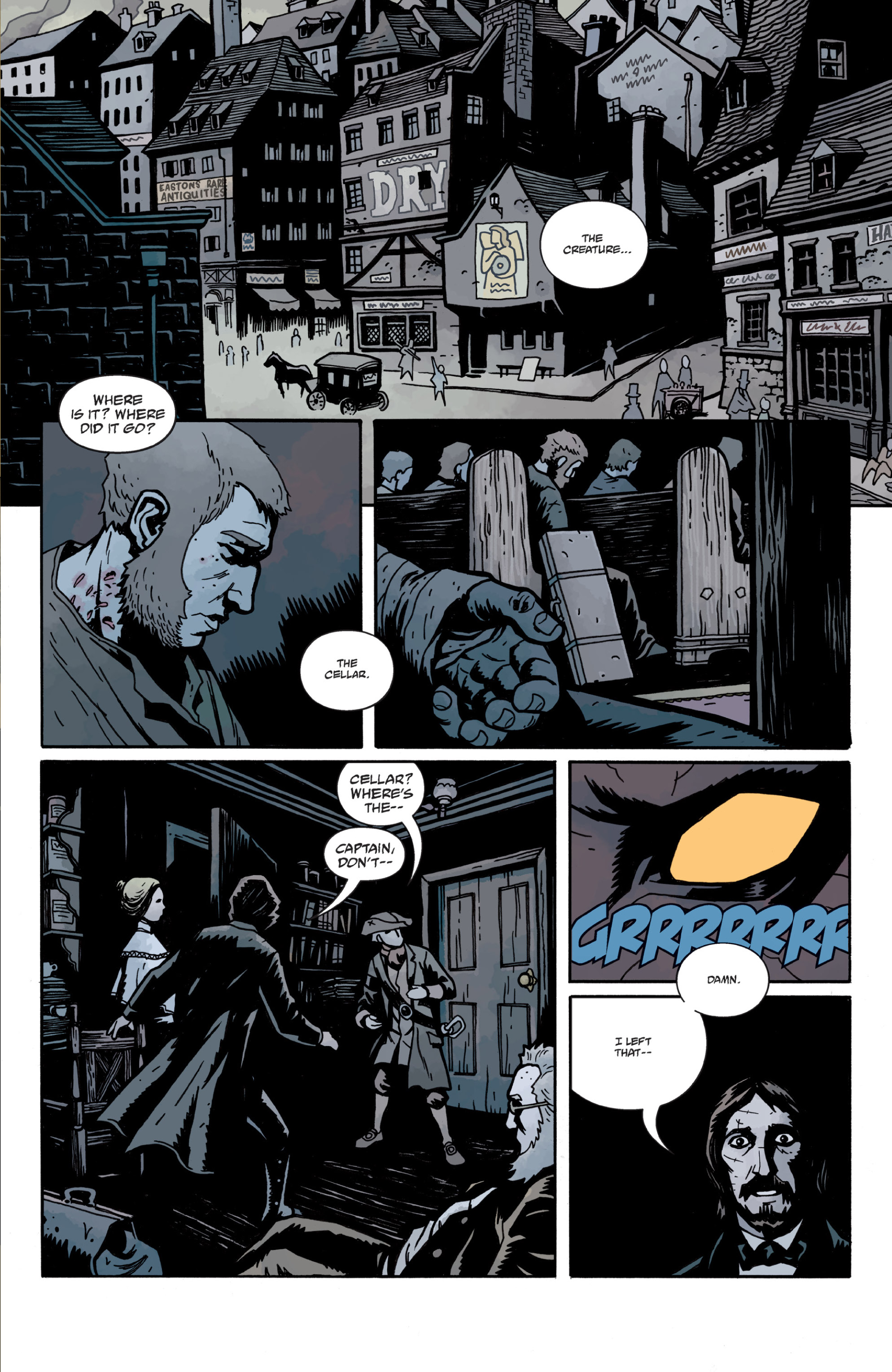 Read online Sir Edward Grey, Witchfinder: In the Service of Angels comic -  Issue # TPB - 80