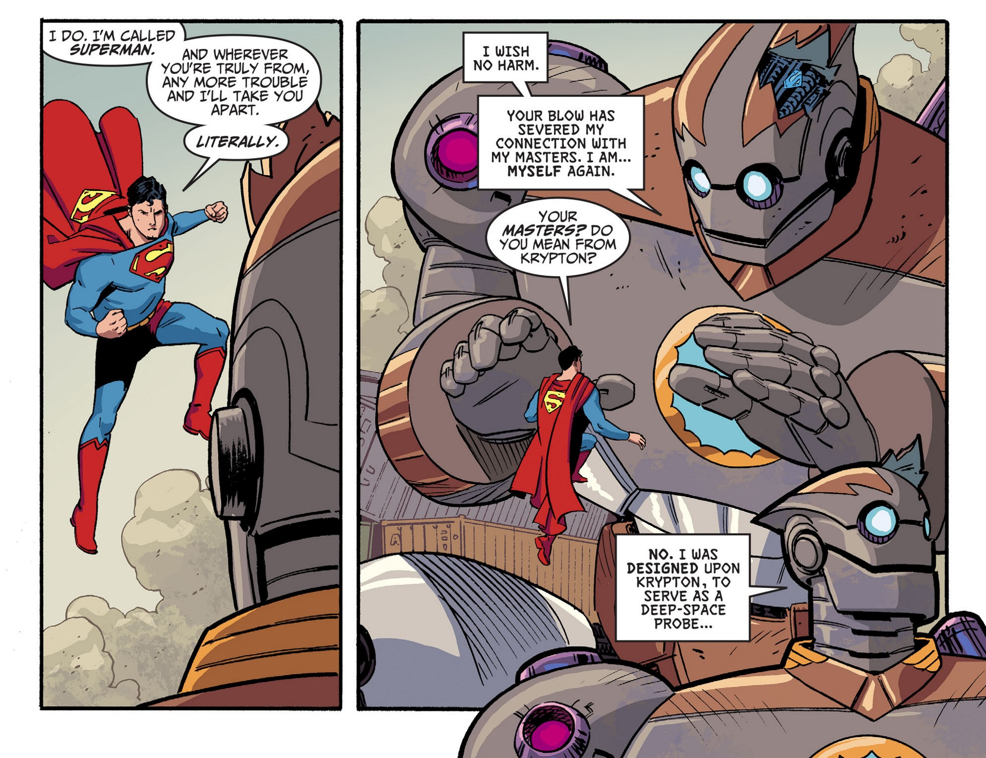 Read online Adventures of Superman [I] comic -  Issue #44 - 12