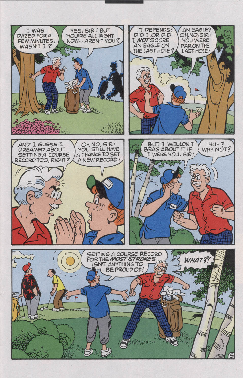 Read online Archie (1960) comic -  Issue #536 - 33