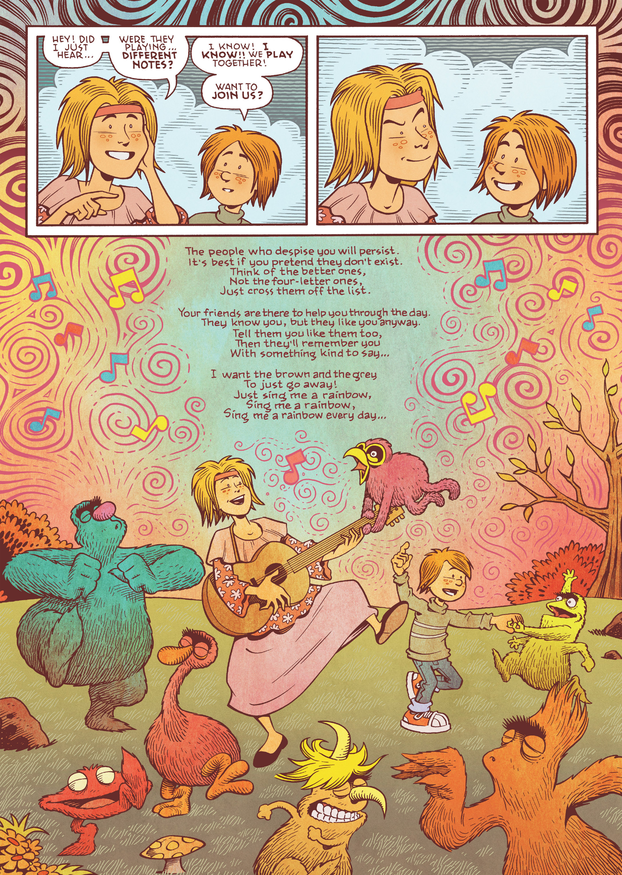 Read online Jim Henson's The Musical Monsters of Turkey Hollow comic -  Issue # Full - 47