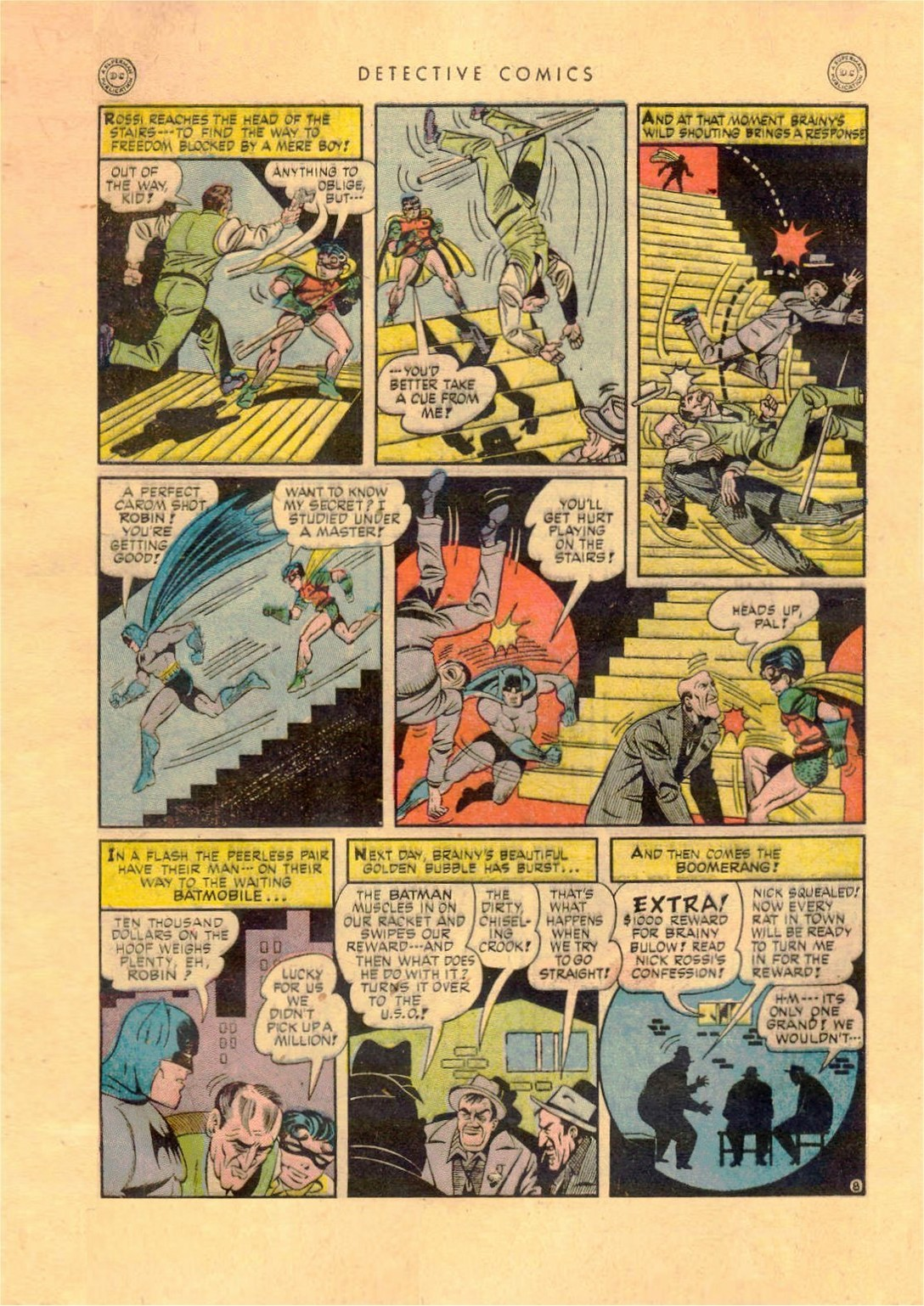 Read online Detective Comics (1937) comic -  Issue #92 - 10
