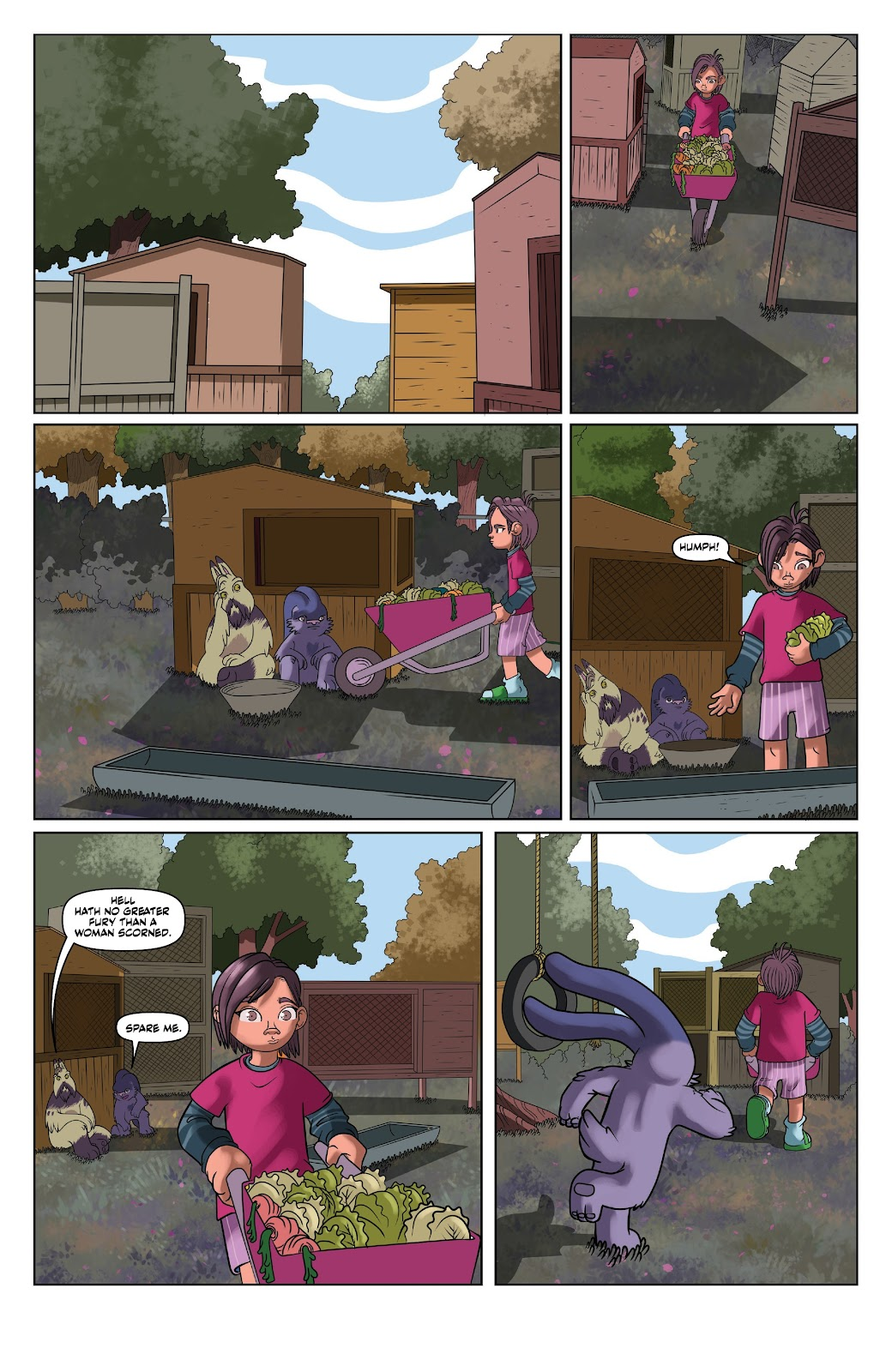 Read online Auntie Agatha's Home For Wayward Rabbits comic -  Issue #6 - 16