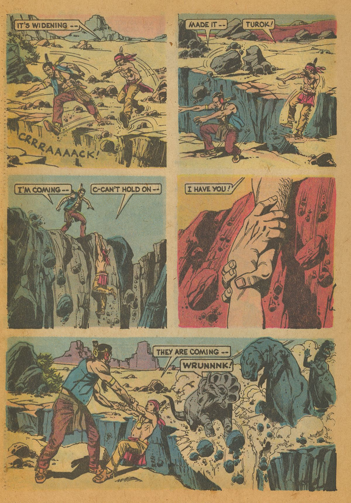 Read online Turok, Son of Stone comic -  Issue #112 - 32