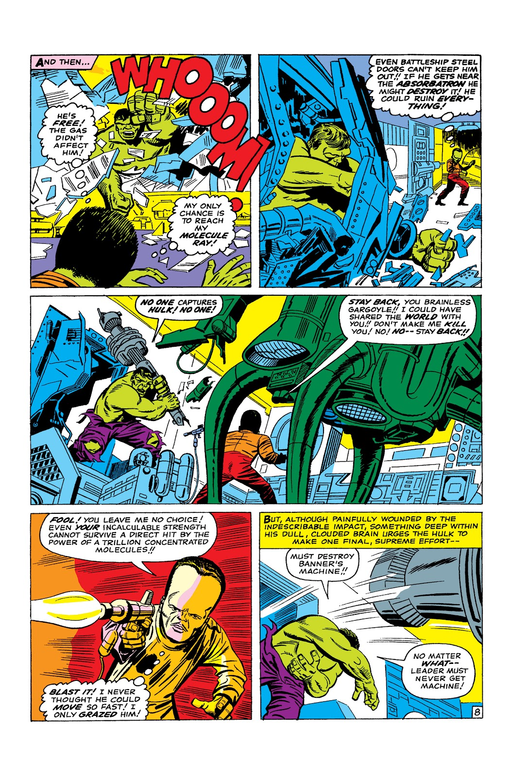 Read online Marvel Masterworks: The Incredible Hulk comic -  Issue # TPB 2 (Part 2) - 31