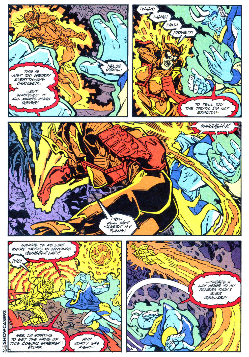 Read online Showcase '93 comic -  Issue #4 - 25