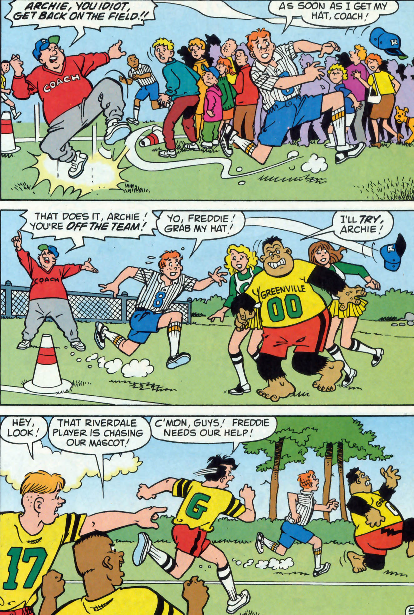 Read online Archie (1960) comic -  Issue #477 - 24