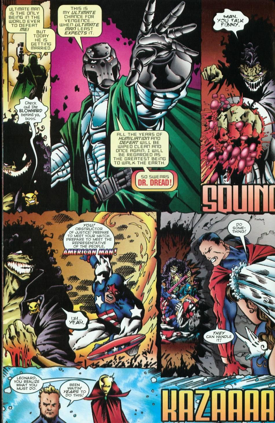 Read online Evil Ernie vs. the Superheroes comic -  Issue #1 - 24