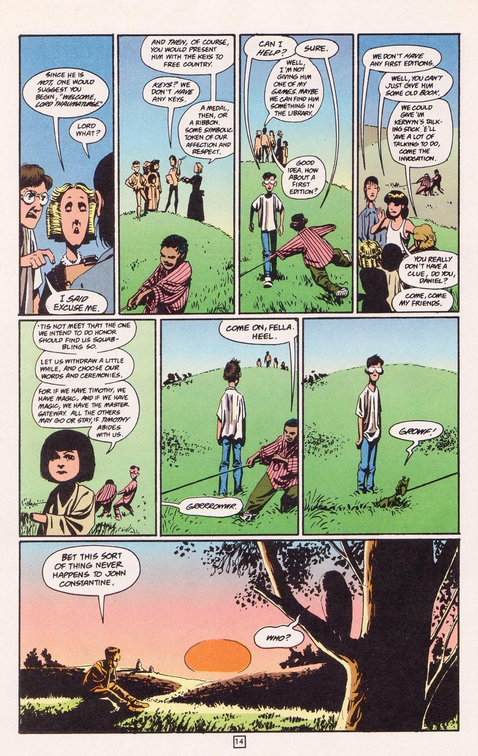 Read online The Children's Crusade comic -  Issue #2 - 15