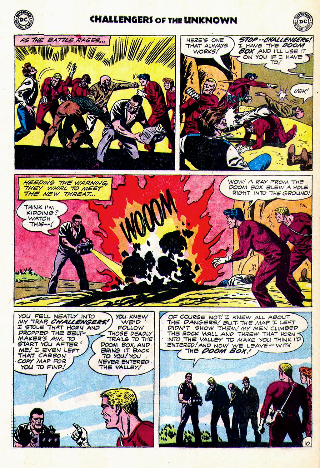 Challengers of the Unknown (1958) issue 23 - Page 12