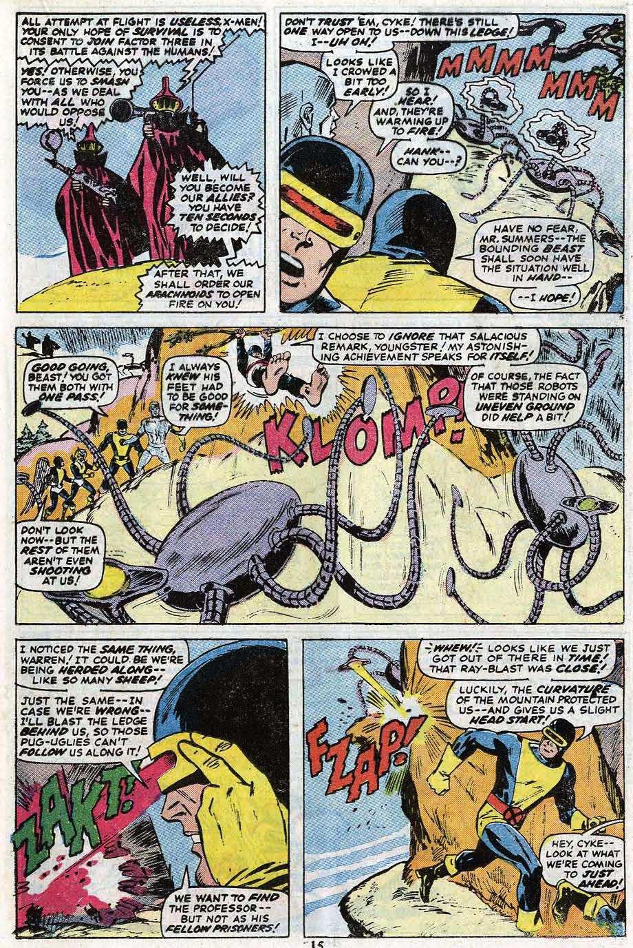 Read online Uncanny X-Men (1963) comic -  Issue #85 - 17