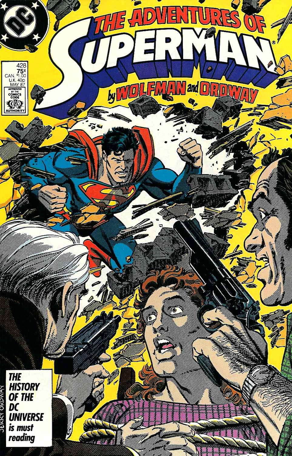 Read online Adventures of Superman (1987) comic -  Issue #428 - 1