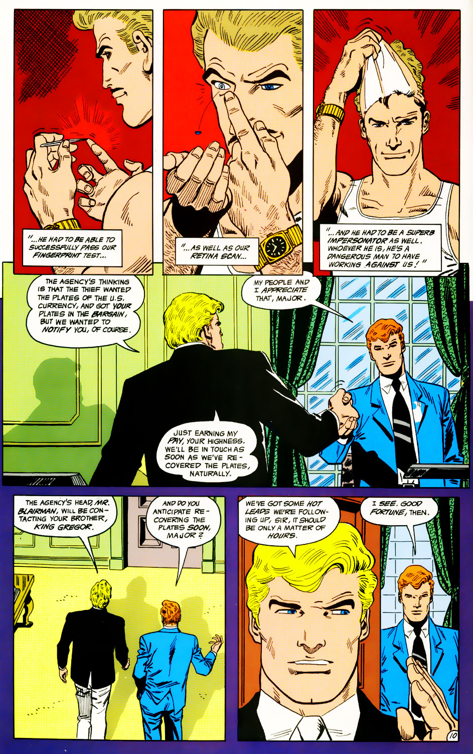 Read online Adventures of the Outsiders comic -  Issue #41 - 11