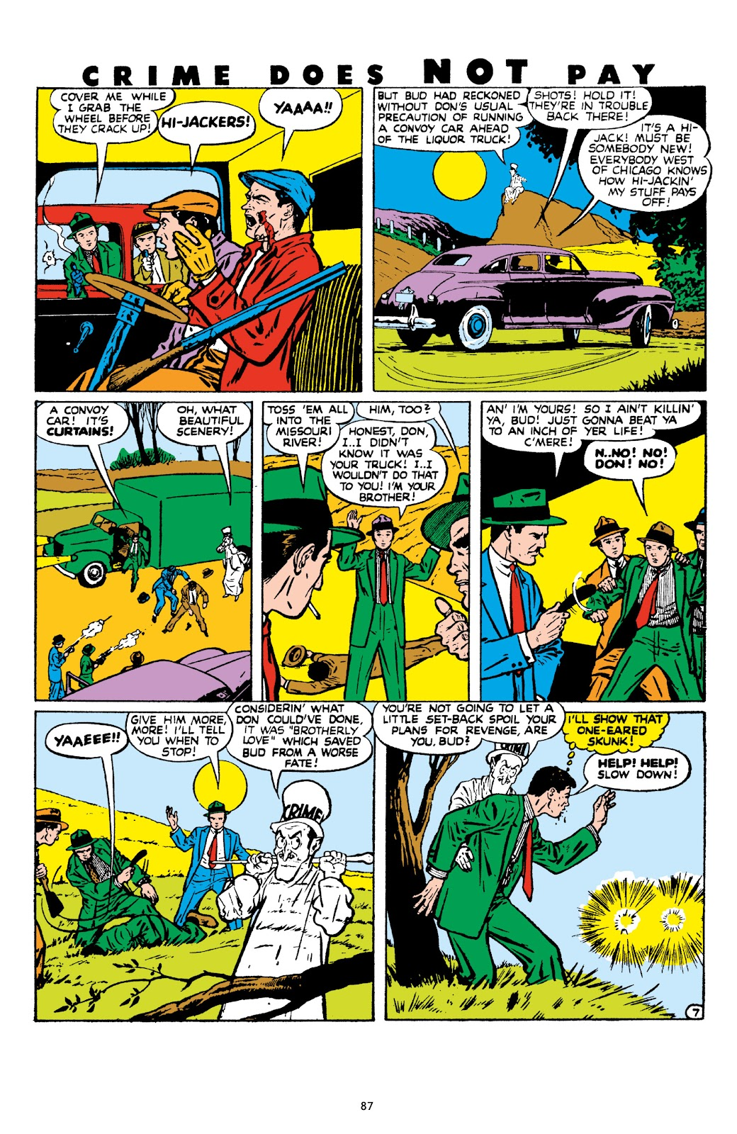 Read online Crime Does Not Pay Archives comic -  Issue # TPB 8 (Part 1) - 88
