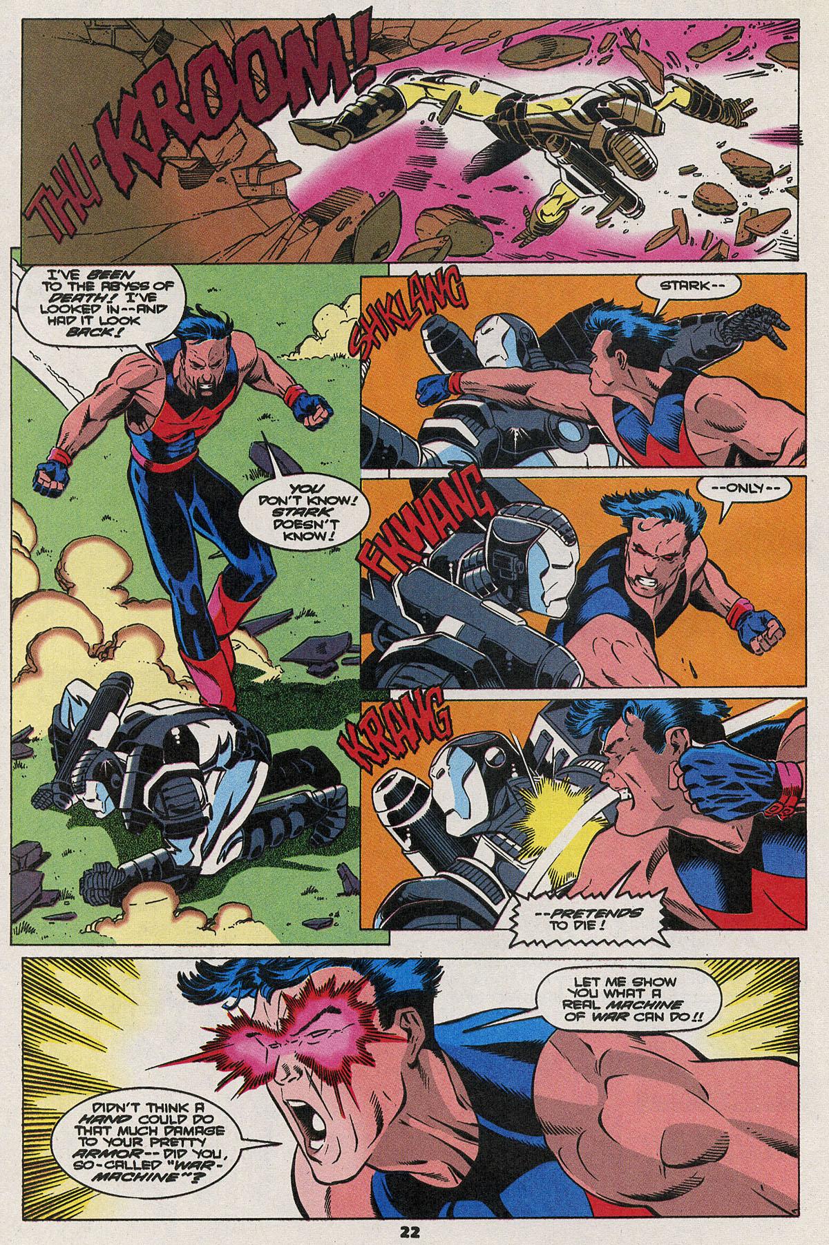 Read online Wonder Man (1991) comic -  Issue #23 - 17