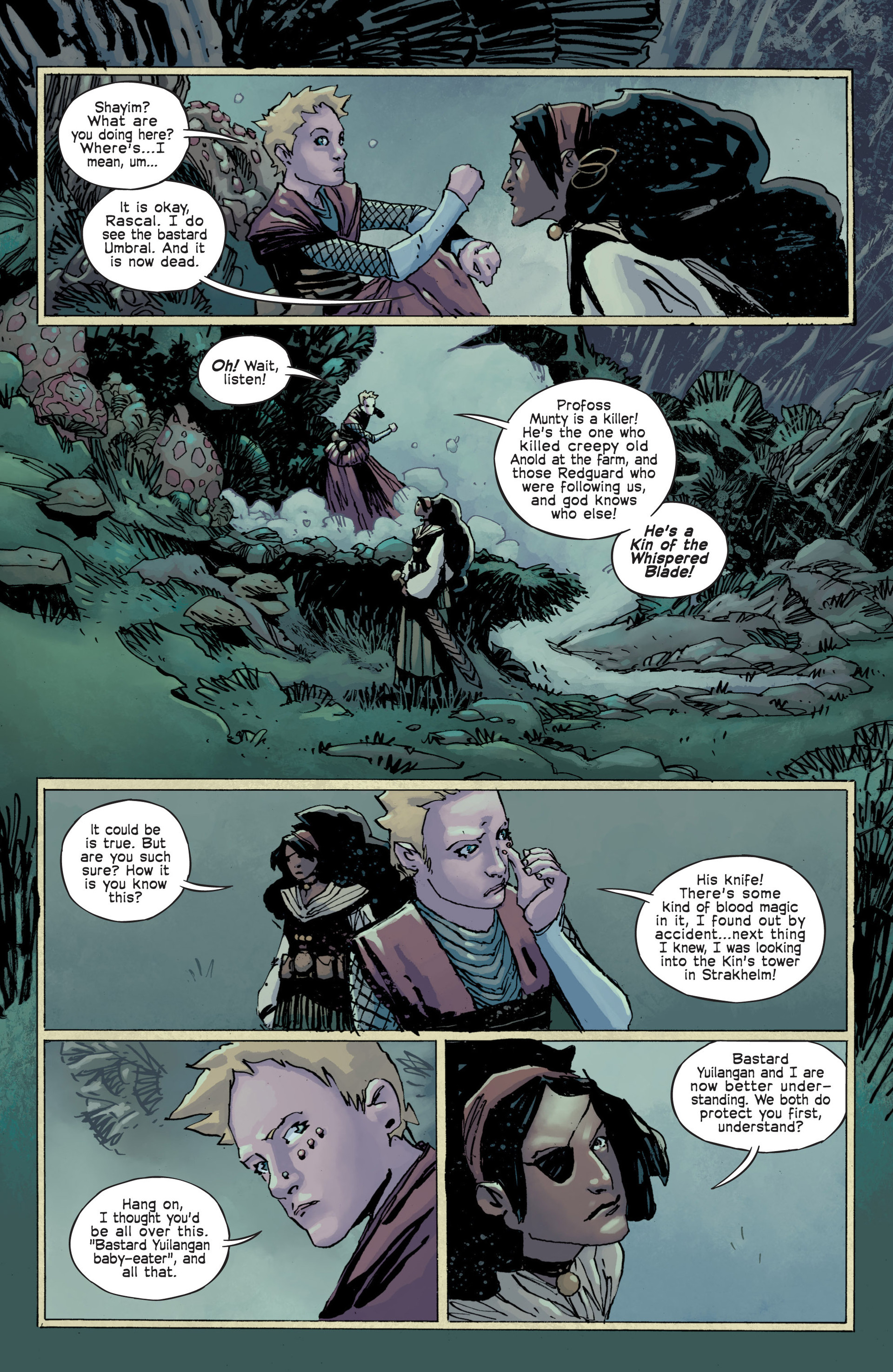Read online Umbral comic -  Issue #12 - 6