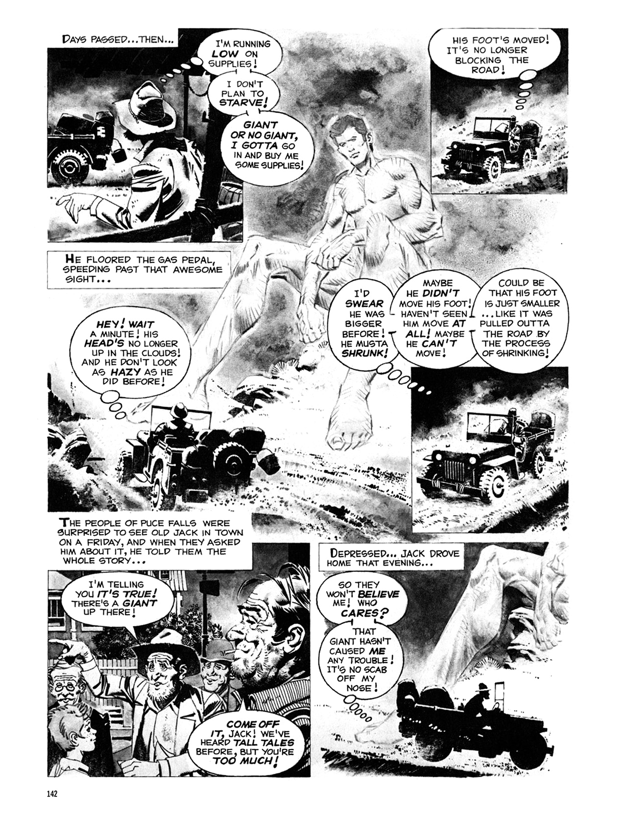 Read online Eerie Archives comic -  Issue # TPB 8 - 143
