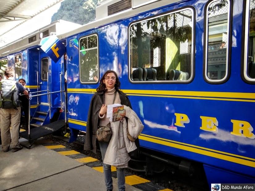 Trem Águas Calientes Machu Picchu - Peru