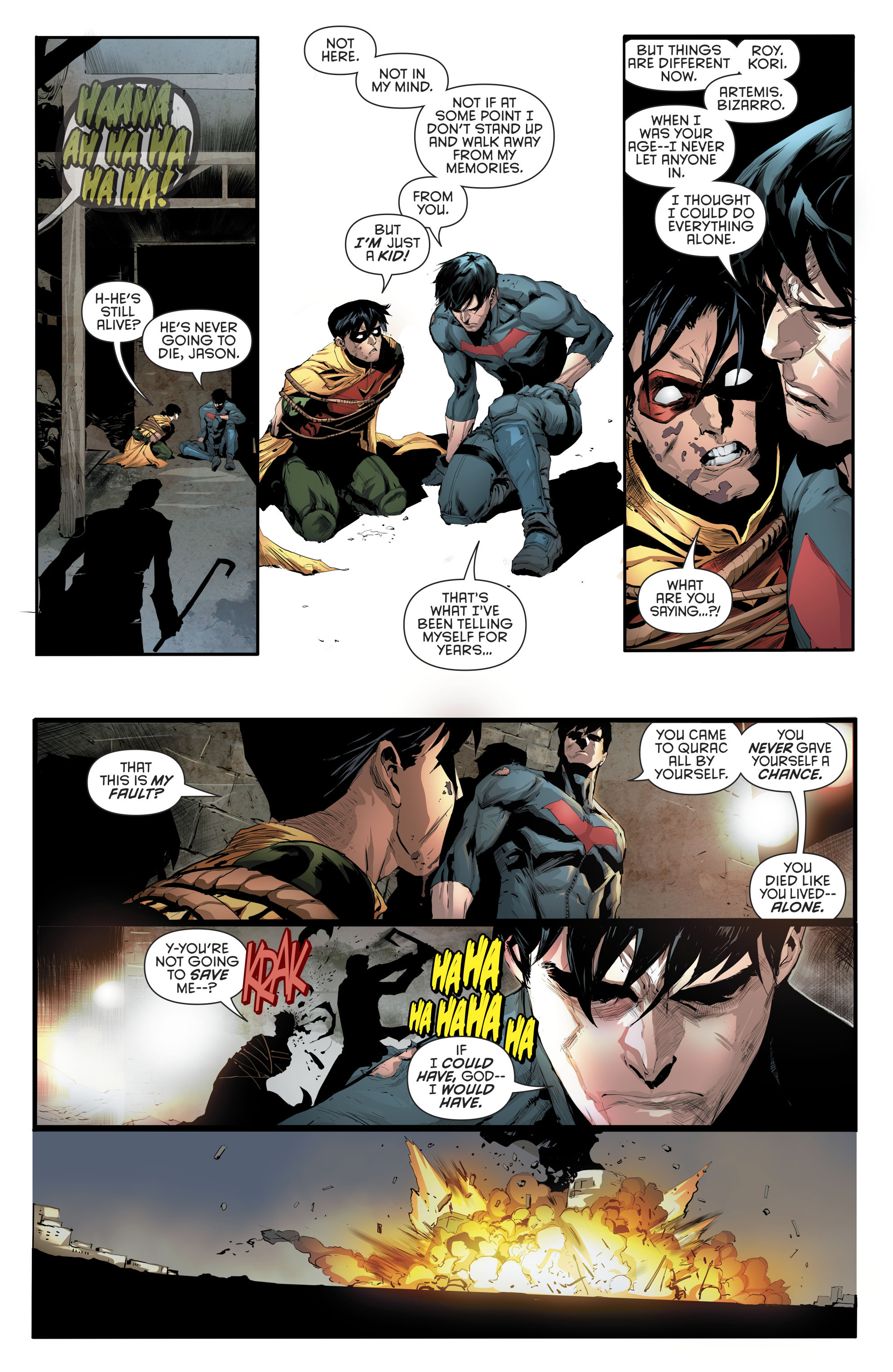 Read online Red Hood and the Outlaws (2016) comic -  Issue #10 - 16
