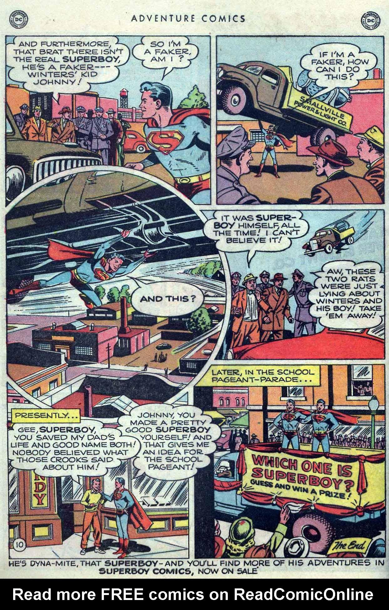 Read online Adventure Comics (1938) comic -  Issue #149 - 12