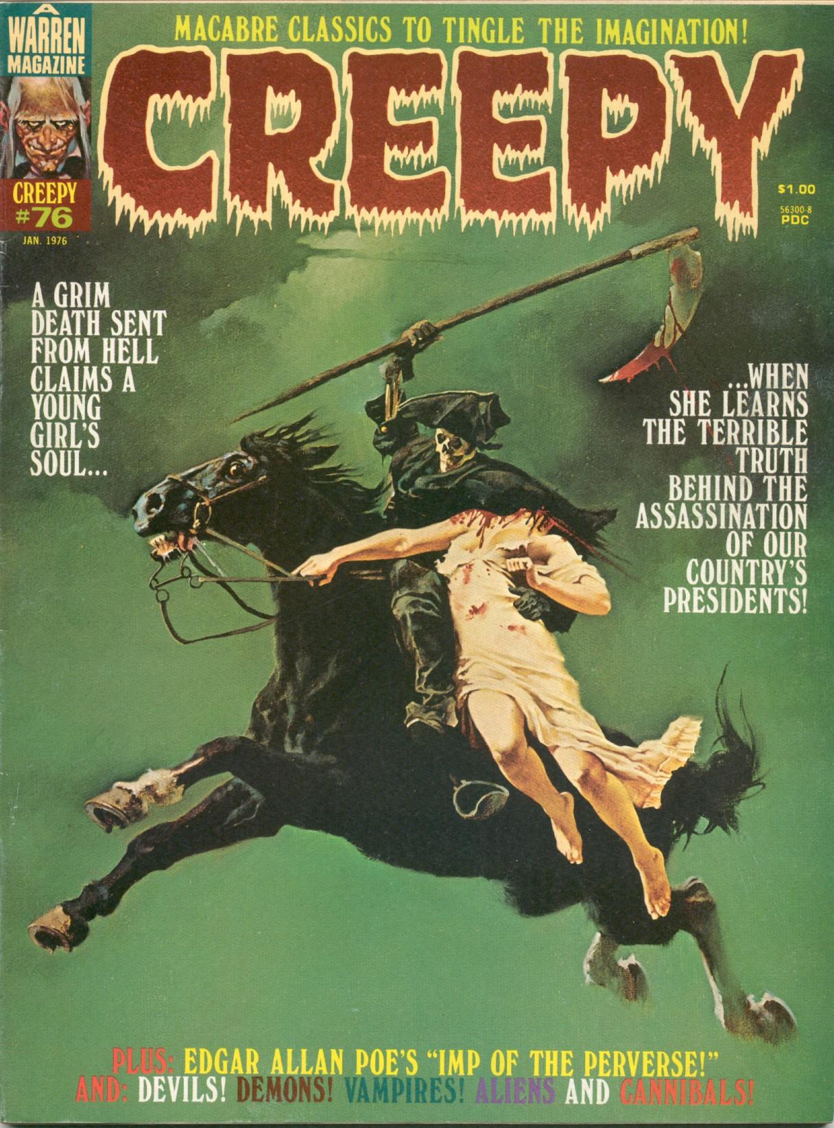 Creepy (1964) 76 Page 1
