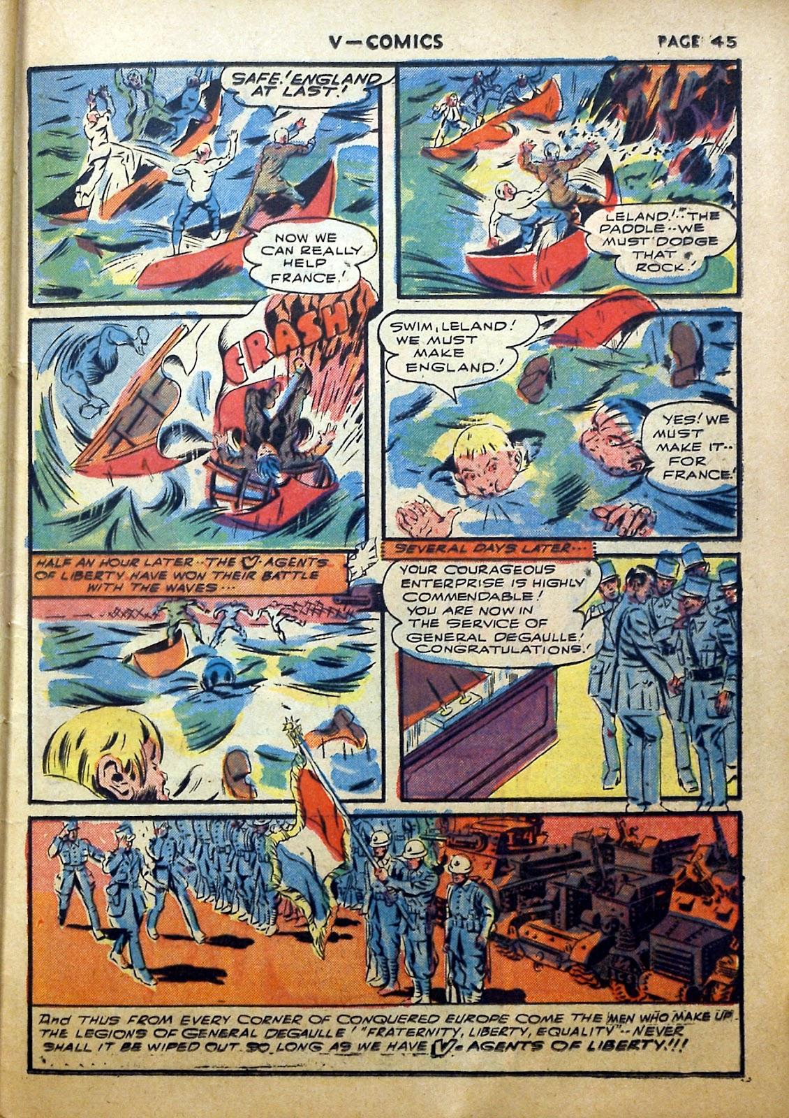 Read online V...- Comics comic -  Issue #2 - 46