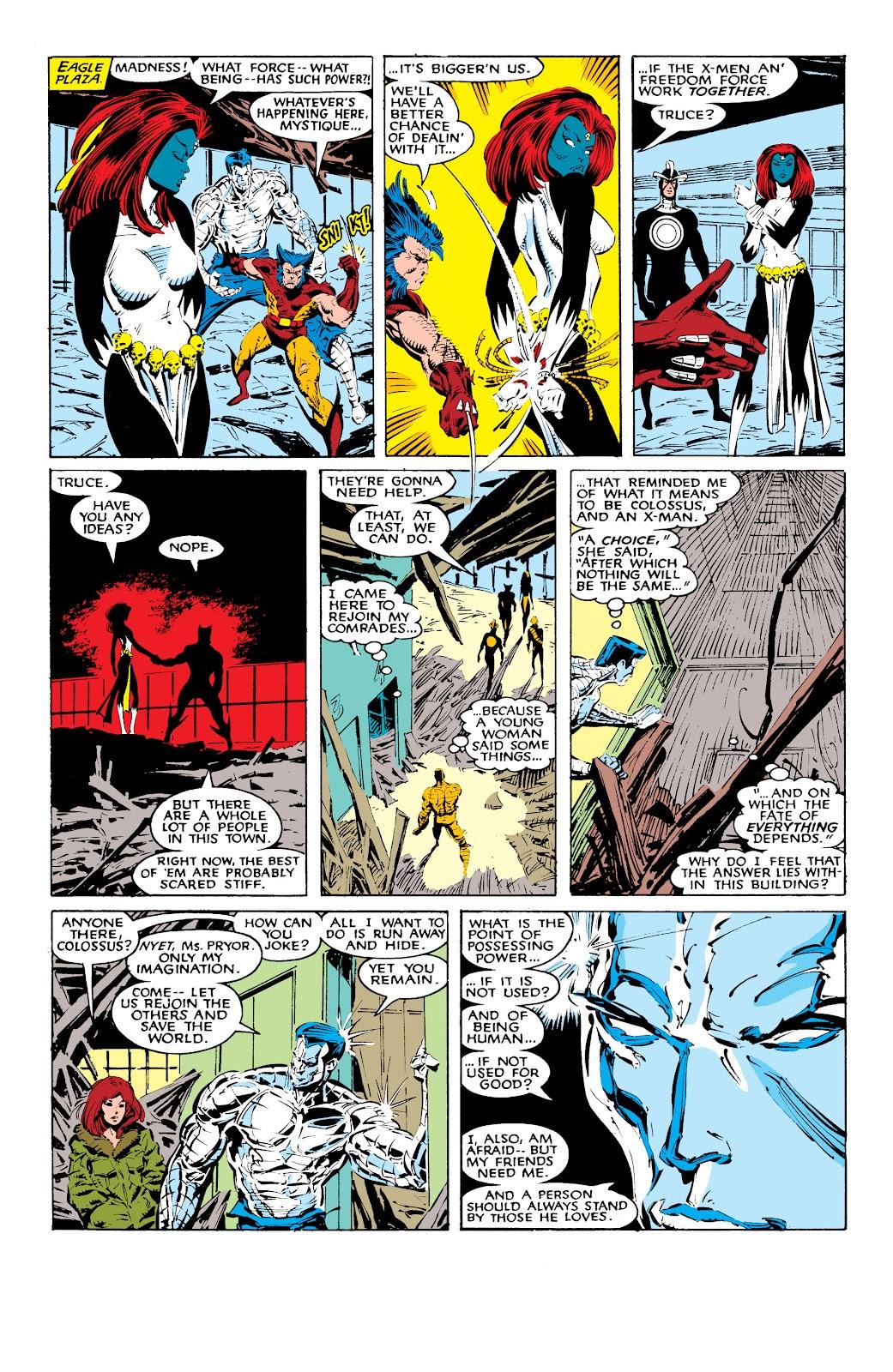 Read online X-Men Milestones: Fall of the Mutants comic -  Issue # TPB (Part 1) - 38