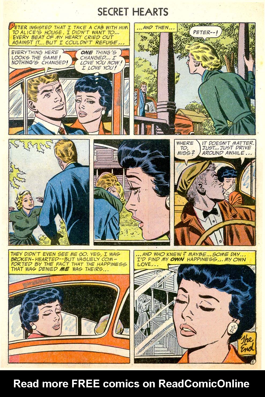 Read online Secret Hearts comic -  Issue #26 - 10
